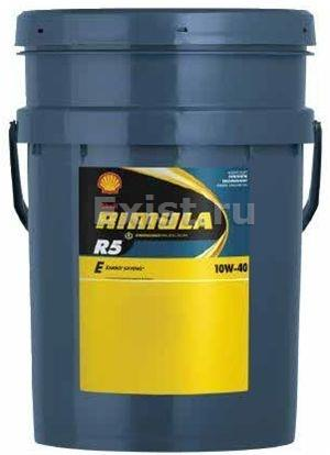 SHELL Rimula R5 E, 10w-40, CI-4, полусинтетическое, 20л, Финляндия