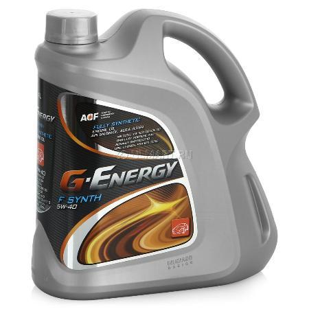 G-Energy F Synth, 5w-40, SM/CF,  синтетика, 4л, Италия