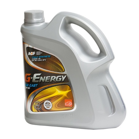 G-Energy  Far East, 5w-20, SN/ILSAC GF-5, мотроное масло,  синтетика, 4л, Италия