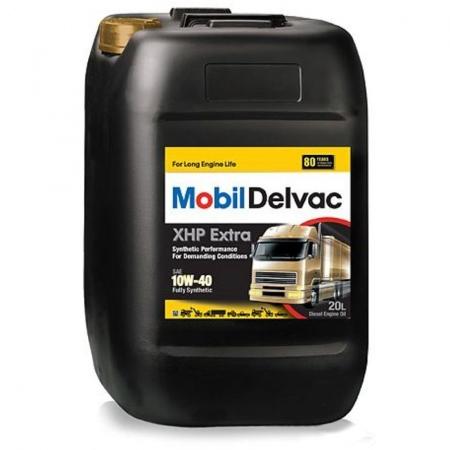 Mobil Delvac MX Extra, 10W40, полусинтетика, 20л, EU