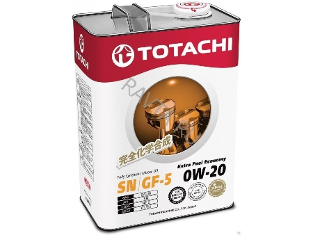TOTACHI Extra Fuel, 0W-20, SN, моторное масло, синтетика, 4л, Япония
