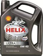 SHELL HELIX Ultra, 0w-40, SM/CF, моторное масло, синтетика, 4л, Финляндия