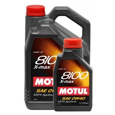 МOTUL 8100  X-Max, 0w-40,  моторное масло, синтетика,  1л, Франция