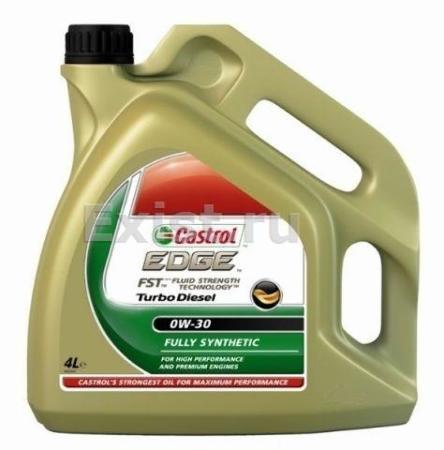 Castrol EDGE Turbo DIESEL, Titanium FST 0W30, моторное масло, синтетика, 4л, Бельгия