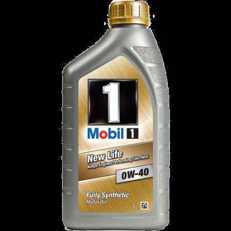 Mobil 1 FS, 0W40, моторное масло,  синтетика, 1л, EU