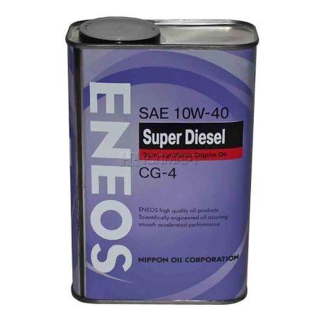 ЕNEOS Super Diesel, 10w-40, CG-4,  полусинтетика, 0,94л, Япония