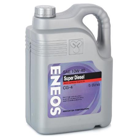 ЕNEOS Super Diesel, 10w-40, CG-4,  полусинтетика, 6л, Япония