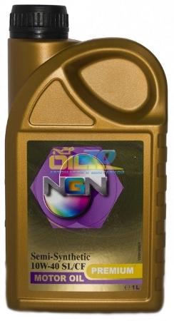 NGN, Premium,10W-40 SL/CF,  полусинтетика, 1л, Нидерланды