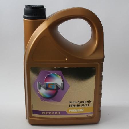 NGN, Premium,10W-40 SL/CF,  полусинтетика, 4л, Нидерланды