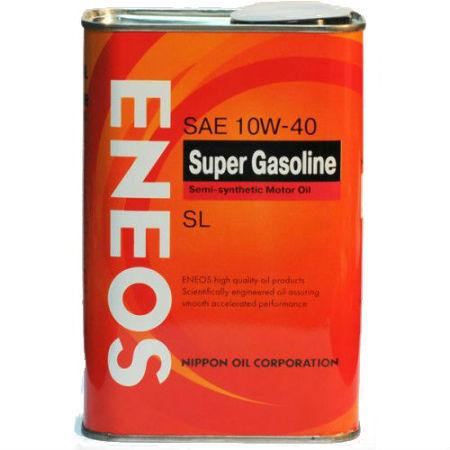 ЕNEOS Super Gasoline, 10w-40, SL,  полусинтетика, 0,94л, Япония