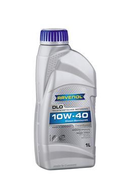 Ravenol DLO, 10w-40,  полусинтетика, 1л, Германия