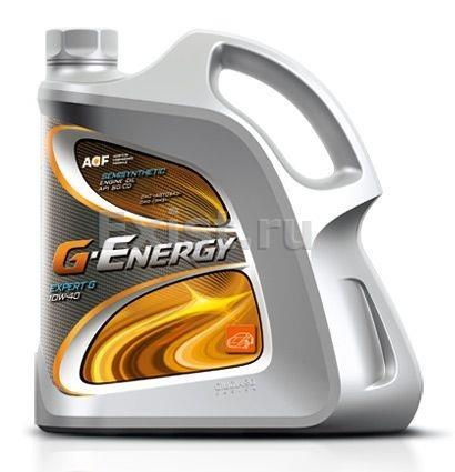 G-Energy EXPERT G, 10W-40, SG/CD,  полусинтетика, 4л, Россия
