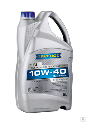 Ravenol TSI, 10w-40, SM/CF,  полусинтетика, 4л, Германия