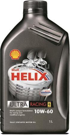 SHELL HELIX Ultra,  10w-60, SN/CF,  синтетика, 1л, Финляндия