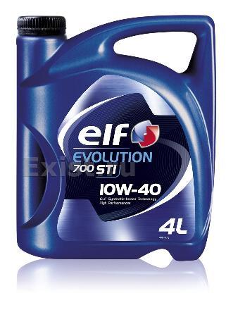 ELF Evolution700 STI, 10W-40, полусинтетика, 4л, ЕС