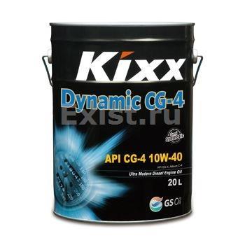 Kixx HD (DYNAMIC), DIESEL, 10W40, CG-4,  полусинтетика, 20л, Корея