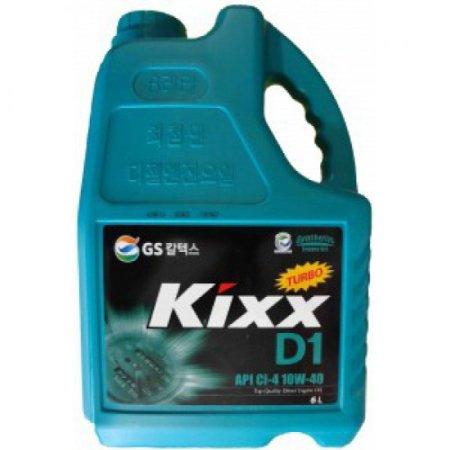 Kixx HD1, DIESEL,10W40, CI-4,  синтетика,6л, Корея