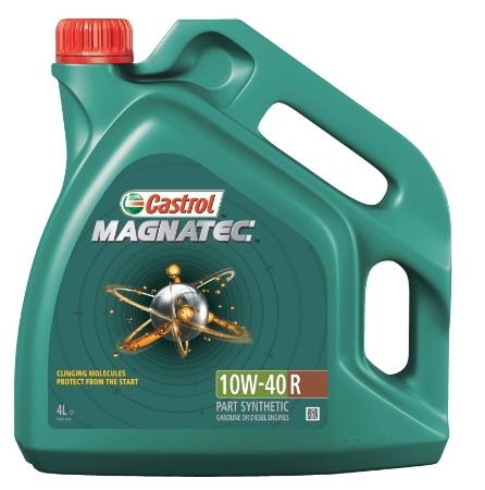 Castrol Magnatec, 10W40 R,  полусинтетика, 4л, Бельгия