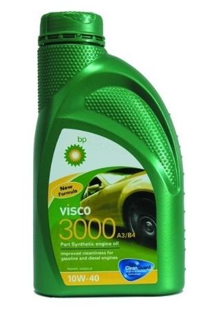 Bp Visco 3000, 10W40,, полусинтетика, 1л, Бельгия