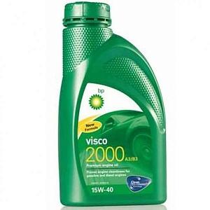 Bp Visco 2000 , 15W40, минеральное, 1л, Бельгия