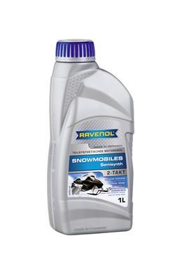 Ravenol Snowmobiles Teilsynth 2T, для 2-хтактных, полусинтетика,1л, Германия