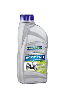 Ravenol Scooter Teilsynth 4T, для 4-х тактных, полусинтетика,1л, Гериания