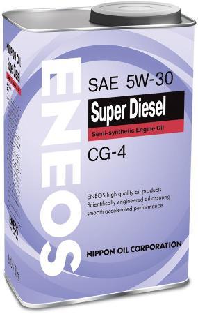 ЕNEOS Super Diesel, 5w-30, CG-4,  полусинтетика, 0,94л, Япония