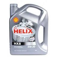 SHELL HELIX HX8, 5w-30, SL/CF,  синтетика, 4л, Финляндия