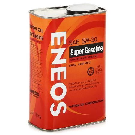 ЕNEOS Super Gasoline, 5w-30, SL,  полусинтетика, 0,94л, Япония
