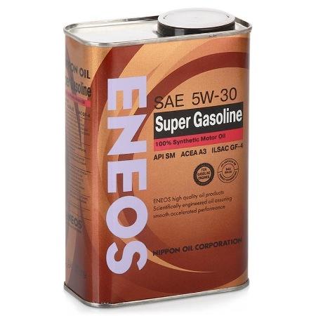 ЕNEOS Super Gasoline 100%,  5w-30, SM,  синтетика, 0,94л, Япония