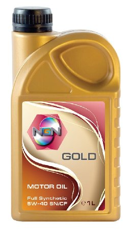 NGN, Gold, 5W-40 SN/CF,  синтетика, 1л, Нидерланды