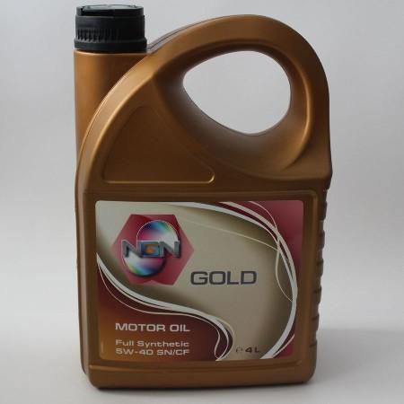 NGN, Gold, 5W-40 SN/CF,  синтетика, 4л, Нидерланды