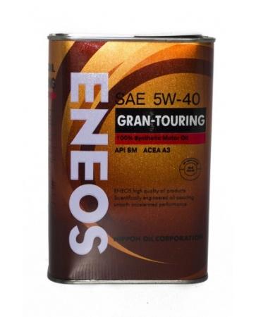 ЕNEOS Gran Tourring 100%,  5w-40, SM,  синтетика,0,94л, Япония