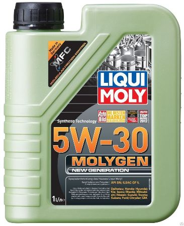 LIQUI MOLY Molygen New Generation, 5W/30,  синтетика,1л, Германия
