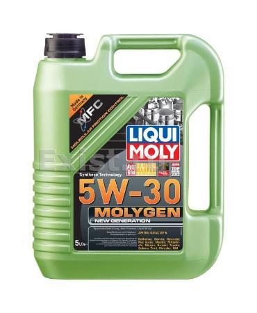 LIQUI MOLY Molygen New Generation, 5W/30,  синтетика, 4л, Германия