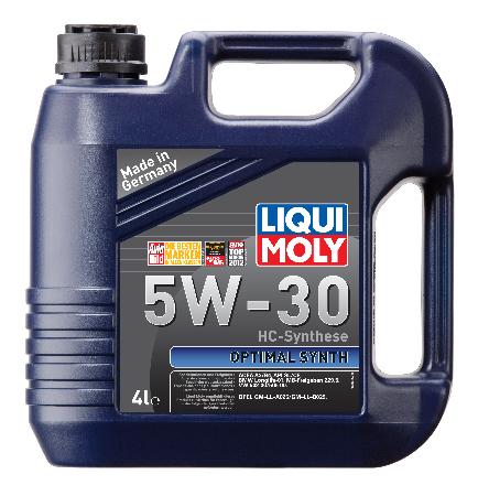 LIQUI MOLY Optimal НТ Synth, 5W/30,  синтетика, 4л, Германия