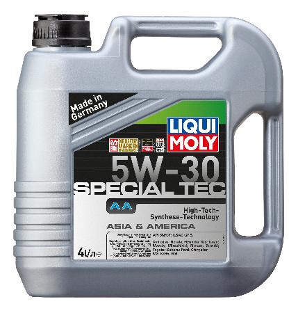 LIQUI MOLY Leichtlauf Spezia AA, 5W/30,  синтетика, 4л, Германия