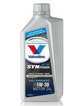 Valvoline SynPower, 5W30, моторное масло, синтетика,1л, Нидерланды