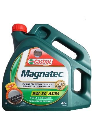Castrol Magnatec А3/В4, 5W30,  синтетика, 4л, Бельгия