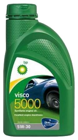 Bp Visco 5000, 5W30,  синтетика, 1л, Бельгия