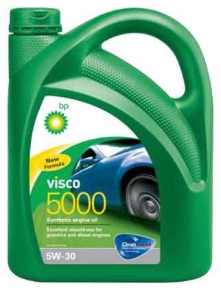 Bp Visco 5000, 5W30, синтетика, 4л, Бельгия