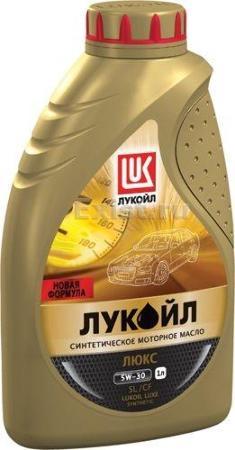 Лукойл Люкс, 5w30, синтетика, 1л, Россия