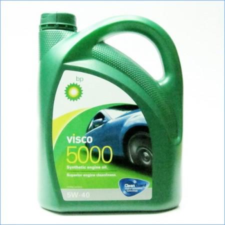Bp Visco 5000 5W40, синтетическое, 4л, Бельгия