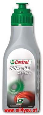 Castrol , SAF-XJ, Syntrax Limited Slip, GL-5, 75W-140, трансмиссионное масло,1л, Бельгия
