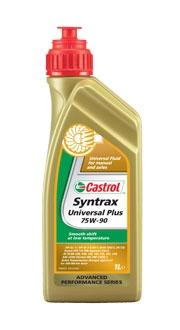 Castrol Syntrax Universal Plus, 75w-90, GL-4/5, трансмиссионное масло, синтетика,1л Бельгия