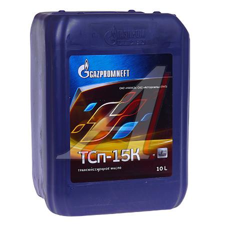 Gazpromneft ТСП-15К, трансмиссионное масло, минеральное,10л, Россия
