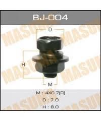 Masuma (BJ-004) болт с гайкой 4*8*0,7