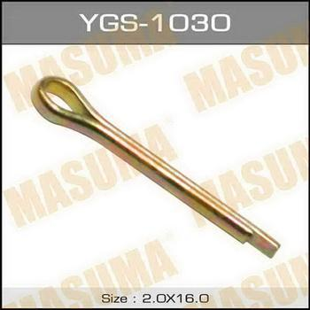 Шплинт Masuma, YGS-1030  2x15mm, 1шт, Япония