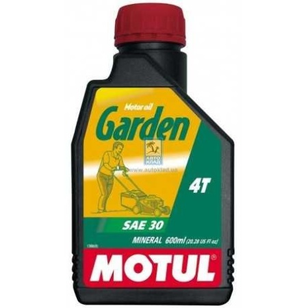 Motul Garden 4Т 10W-30, 600мл, Франция