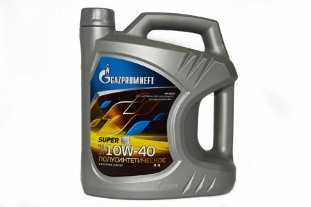 Gazpromneft Super, 10W-40, SG/CD, полусинтетика, 5л, Россия